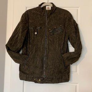 Women's Faux Suede Jacket